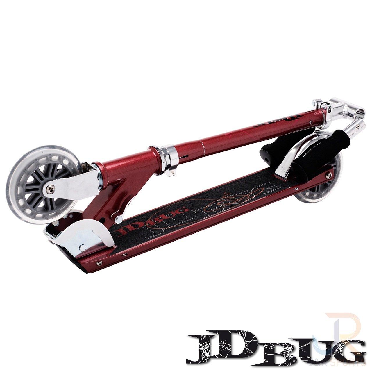 JD Bug MS120 Scooter - Rojo Brillantes Perla: Amazon.es ...