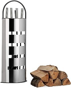 5tlg Kaminbesteck Metall Kaminzubehör Ofen Set Kamingarnitur Kamin Set