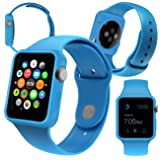 Orzly 5-in-1 42mm Face Plates for Apple Watch