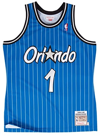 Anfernee Hardaway Orlando Magic Mitchell & Ness Authentic 1994 Blue NBA Jersey Camiseta, ...