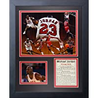 "Legends Never Die ""Michael Jordan II Foto enmarcada Collage, 27,94 cm x 35,56 cm"