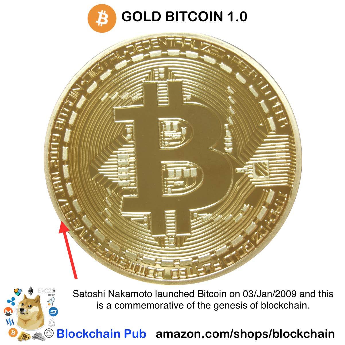 Amazon Gold Bitcoin 2019 COMMEMORATIVE AND BITCOIN TURNS 10 EBOOK