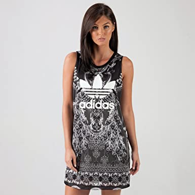 bd834c1dd15062 adidas Originals Womens Womens Pavao Tank Dress in Multi Colour - 6  adidas  Originals  Amazon.co.uk  Clothing