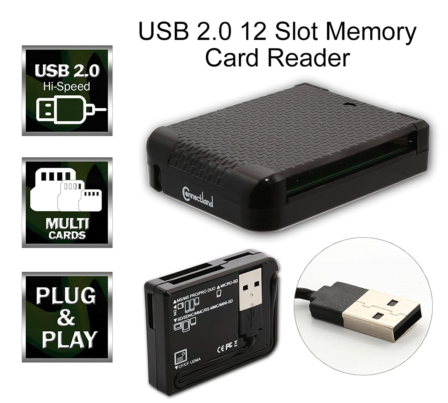 CONNECTLAND USB2.0 CARD READER DRIVERS FOR WINDOWS DOWNLOAD