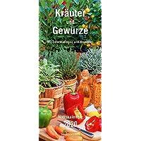 Kräuter & Gewürze Notizkalender 2020 - Wandkalender - mit Extraspalte für Geburtstage - Format 22 x 49 cm: Mit nützlichen Informationen und Rezepten