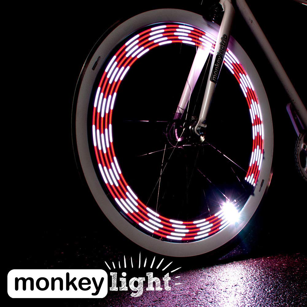 Monkey Light M210 Éclairage Pour Velo - 10 LEDs - 19 Motifs - Étanche 0ef1cc50a6dd