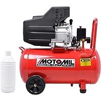 Compressor de Ar 8,8 Pés 2,5CV 50L MAM10/50 Motomil 127/220