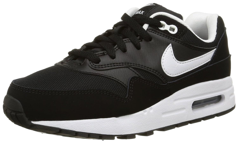Nike Air MAX 1 (GS), Zapatillas de Trail Running para Hombre 39 EU|Negro (Black/White 001)