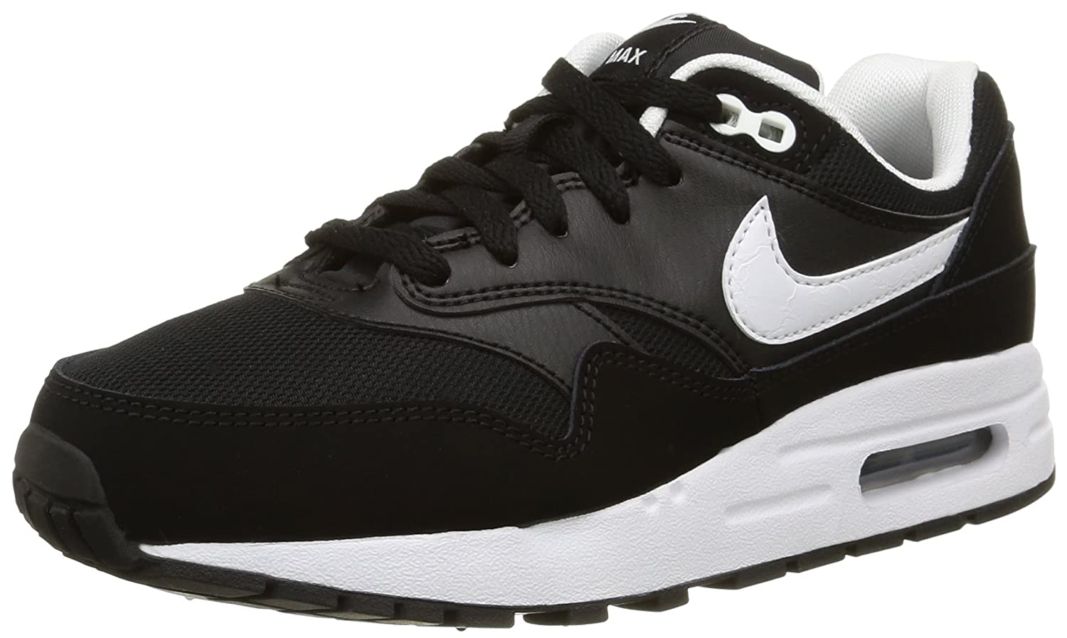 | NIKE Boys Sneakers Air Max 1 (GS) Black White