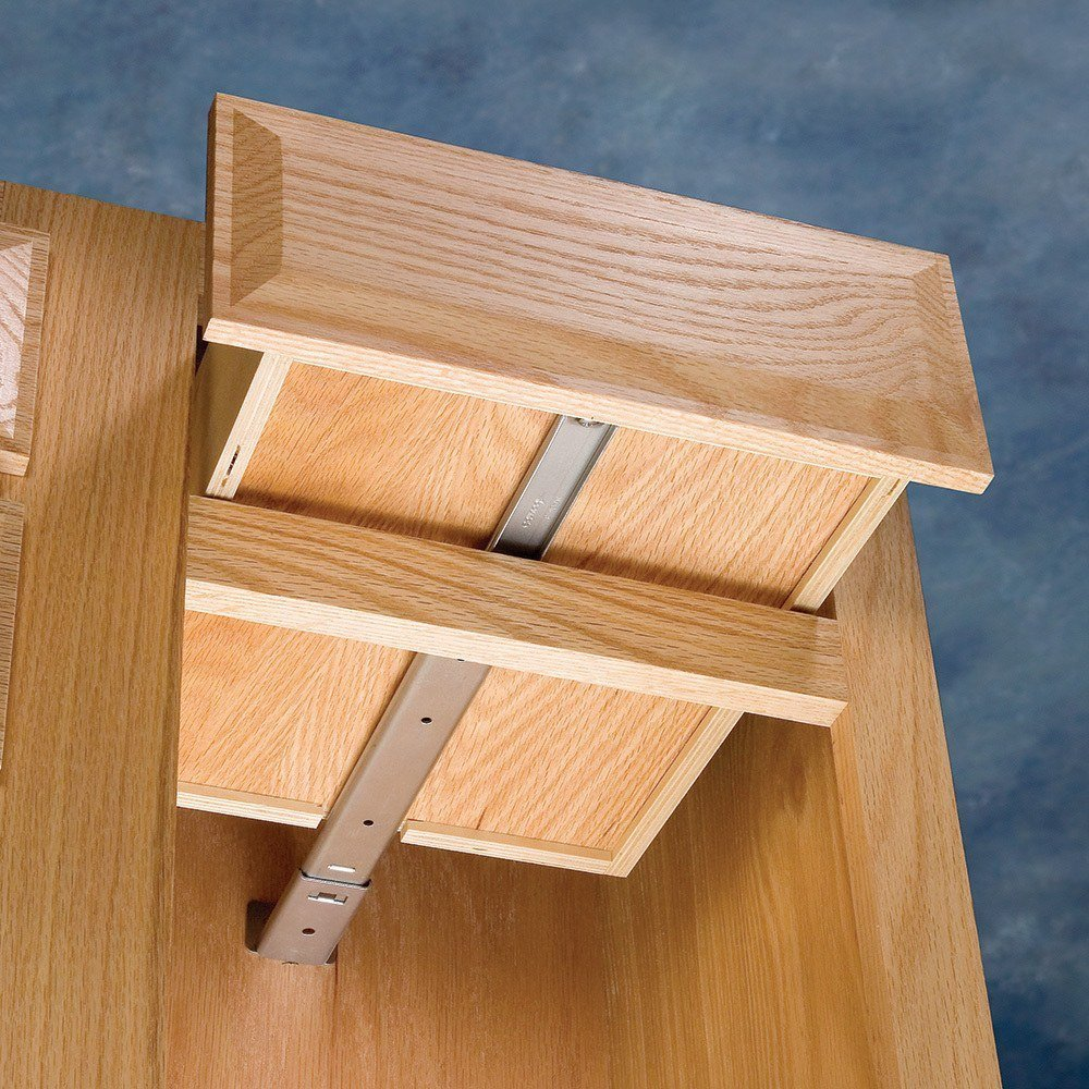 Slide, Center Mount, Drawer Length 12-5/8''-14-1/2'', Depth 15''-16-1/2'', Extension - 10-1/2'' by Accuride (Image #2)