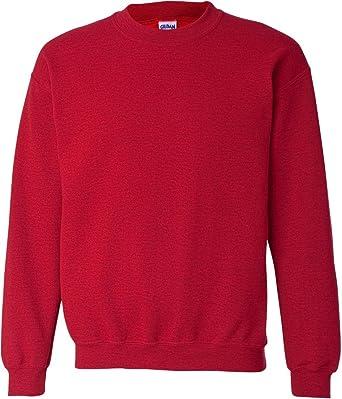 c3dbc5ccb9cc Amazon.com  Gildan Men s Fleece Crewneck Sweatshirt  Clothing