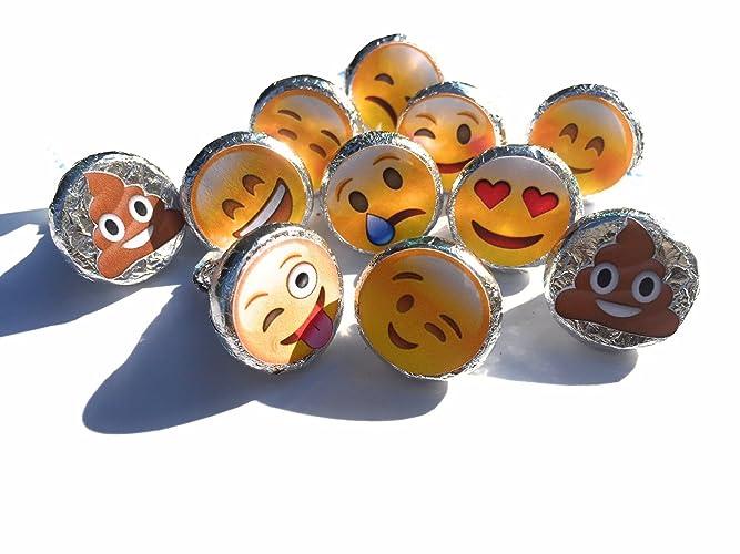 amazon com emoji stickers party favor stickers emoji theme labels