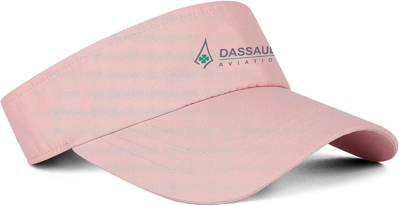 DRTGRHBFG Unisex Womens Mans Visor Hat Cotton Baseball Hat Adjustable Outdoor Tennis Cap