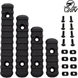 GVN M-Lok Polymer Rail Section 5,7,9,11 Slot Polymer Picatinny/Weaver Rail(4 Pieces)