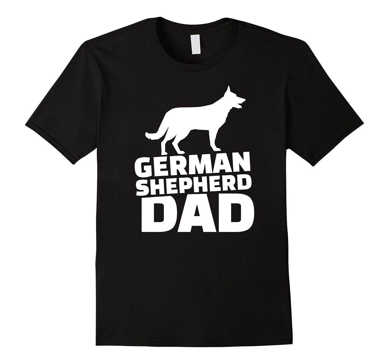 Men's German Shepherd Dad T-Shirt-Art
