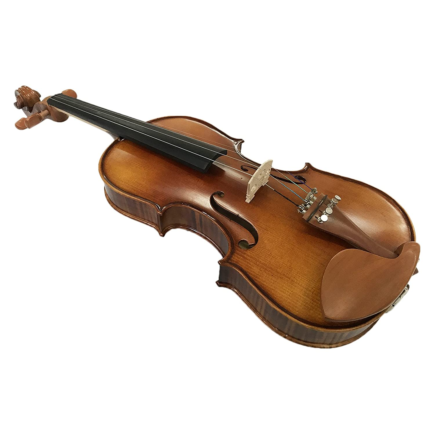 Kinglos YWA1005 4//4 Full Size Handcrafted Solid Wood Student Acoustic Violin Fiddle Starter Kit