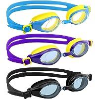 4e6c773dcb2fac  Lot de 3  Lunettes de natation, Heysplash Joint étanche en silicone  Adorable Motif