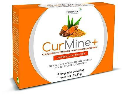 curmine + 30 Cápsulas – Ebo Francia – Curcumina phytosomale phospholipidique hautement assimilable – Dolores,