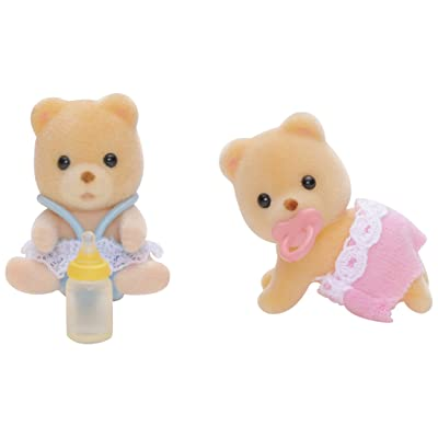 SYLVANIAN FAMILIES Bear Twins Twins Set: Toys & Games