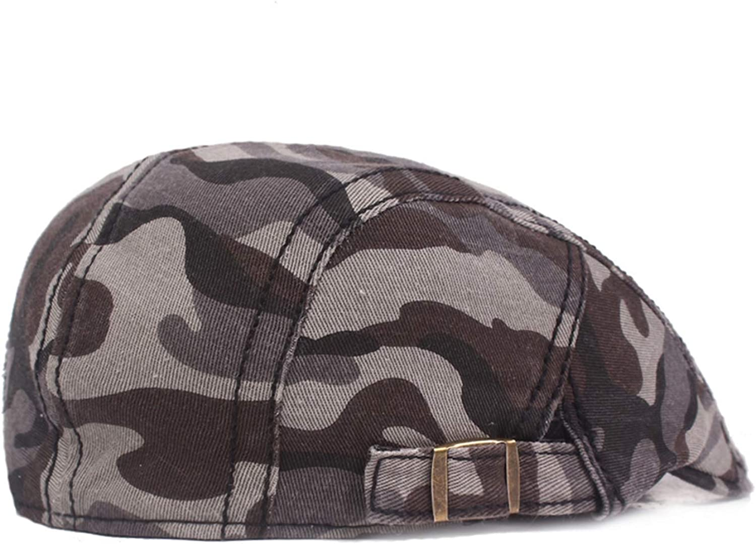 Red Summer Cotton Flat Cap Ivy Caps Men Women Burgundy Newsboy Cabbie Driver Solid Color Casual Camouflage