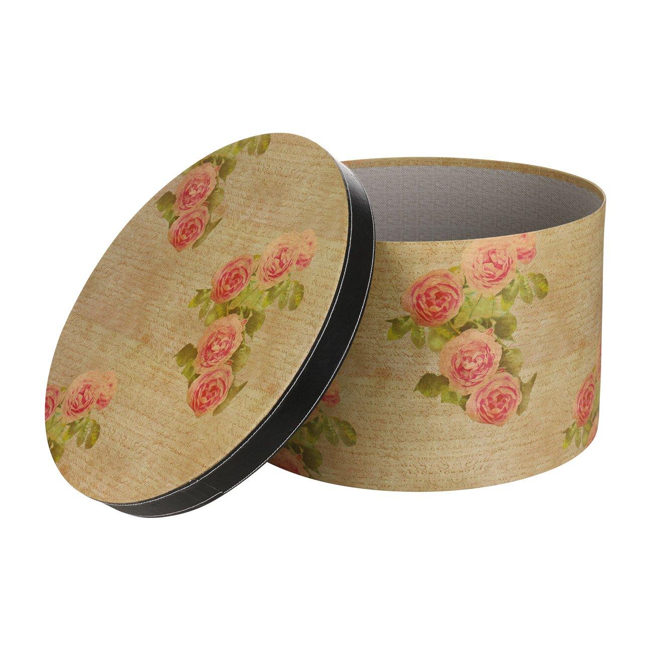Lierys Caja Sombrero Antique Rose 38 cm by sombrereracaja para (Talla única  - Beige)  Amazon.es  Ropa y accesorios 14c6d855498