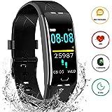 Pulsera Inteligente Reloj Deportivo - con 7 Modos de Deporte, Monitor Actividad Fisica, GPS, Frecuenda Cardíaca…