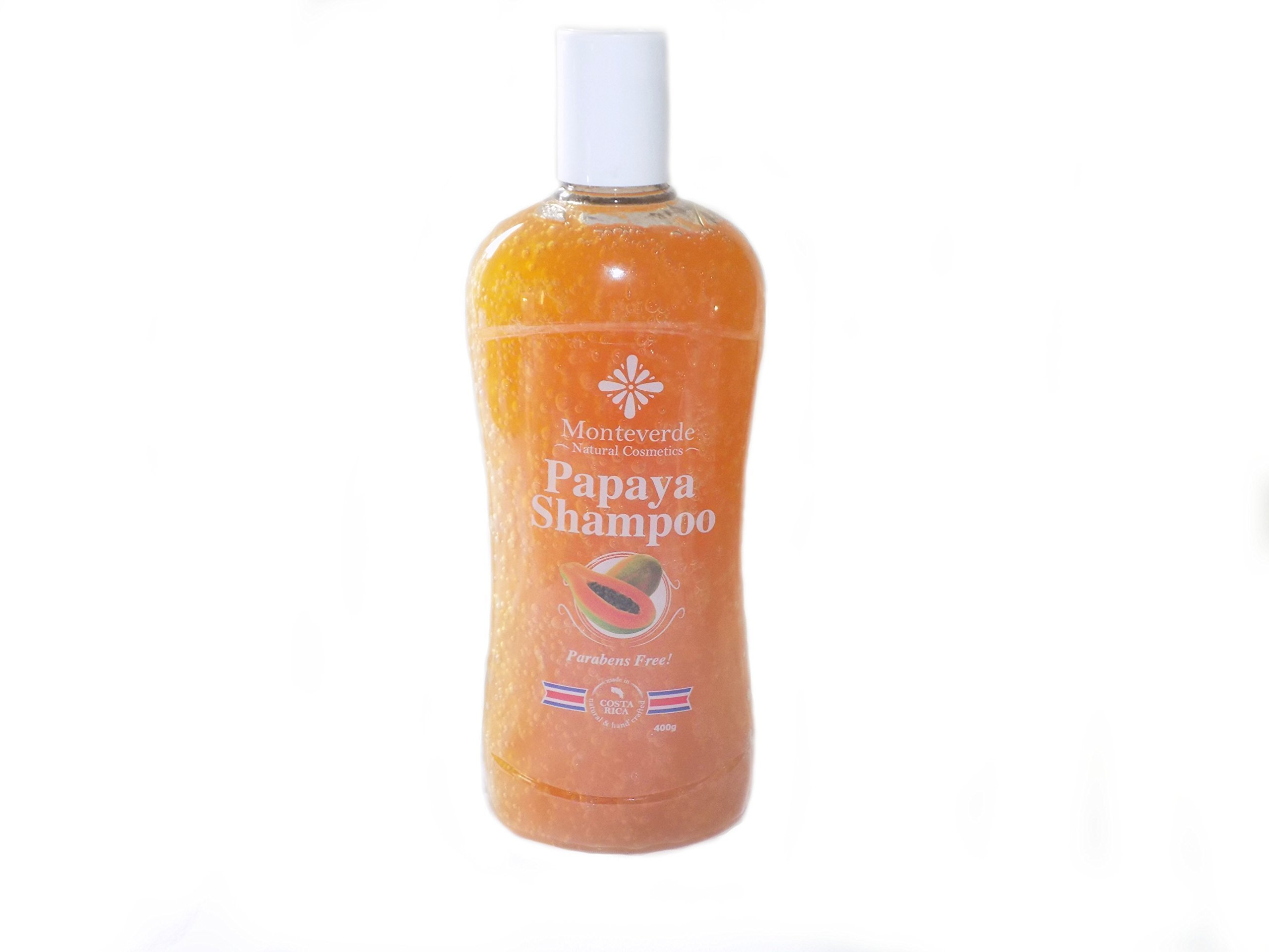 Natural Papaya Shampoo (14 oz)-With Lemon and Ylang Ylang essential oil - For soft and shine hair - Chemical, Sulfate, Paraben free- Biodegragradable- With natural ingredients -Moisturizing- handmade