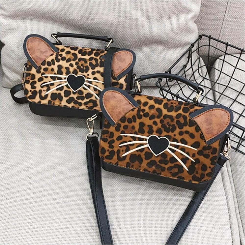 Leopard Cat Bag Satchel Rucksack Handbag Wallet Crossbody Backpack Bag Bookbag Travel tote bags Purse