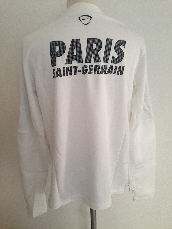 Sudadera Nike Thermafit 2014/15 - PSG - Paris Saint Germain - XL - blanco negro: Amazon.es: Deportes y aire libre