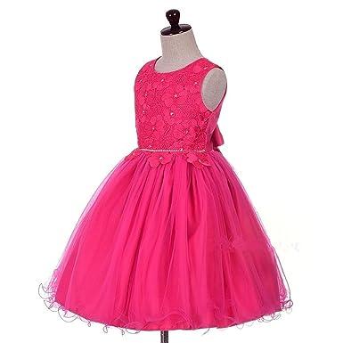6233d8e9c2e4f Amazon.com: Doris Batchelor Elegant Flower Girls Dress Summer ...