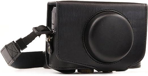 Ever Ready Schützender Lederner Kamera Kasten Beutel Für Canon Powershot Sx720 Hs