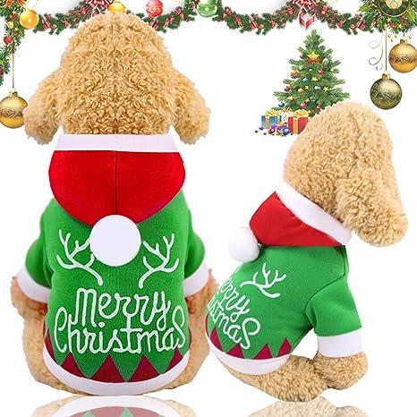 Dkings Perro Sudadera de Navidad, Ropa de Perro para Perros ...