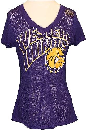 Western Illinois Leathernecks University Tech Performance T-Shirt X-Large Purple