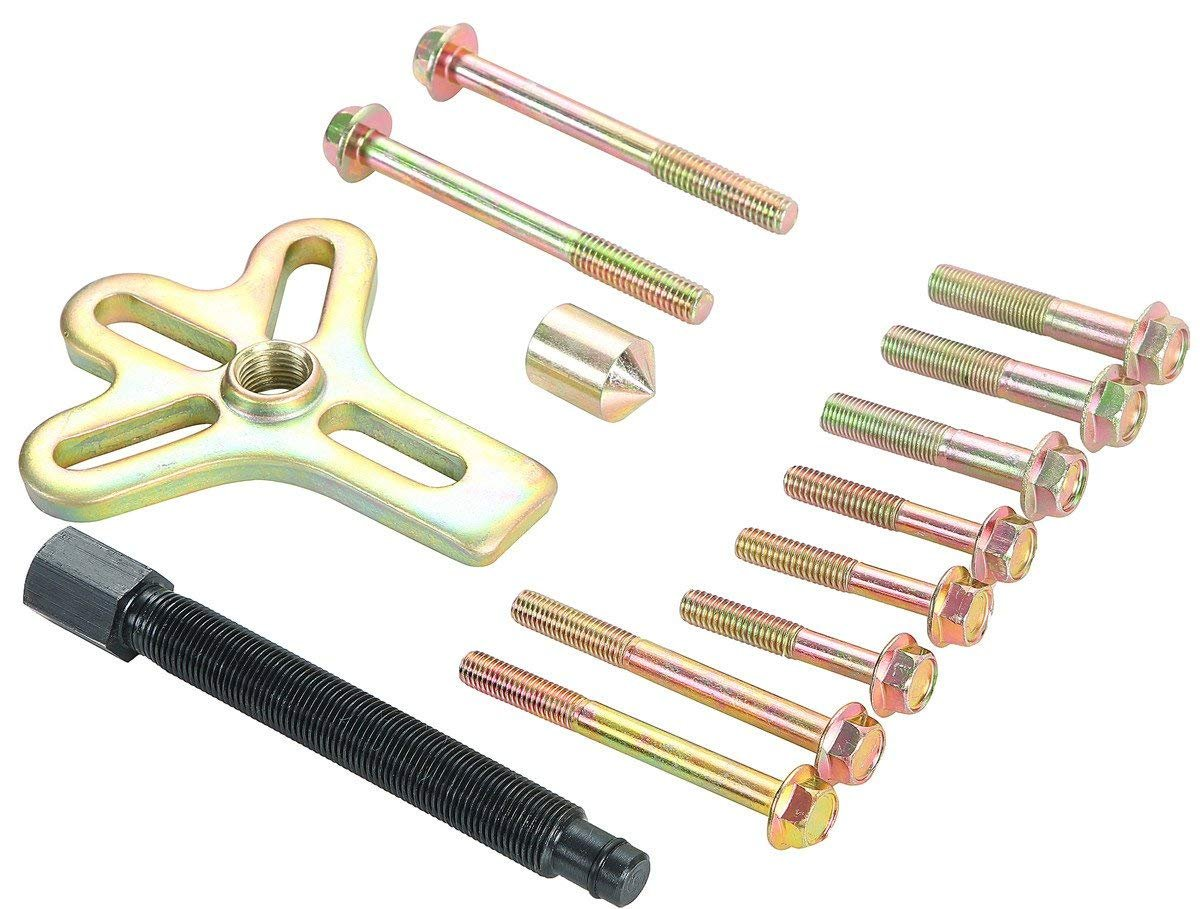 FreeTec 46/Piece Universal Steering Wheel Puller Set Bearing Separator 2//3/Arm with Carry Case