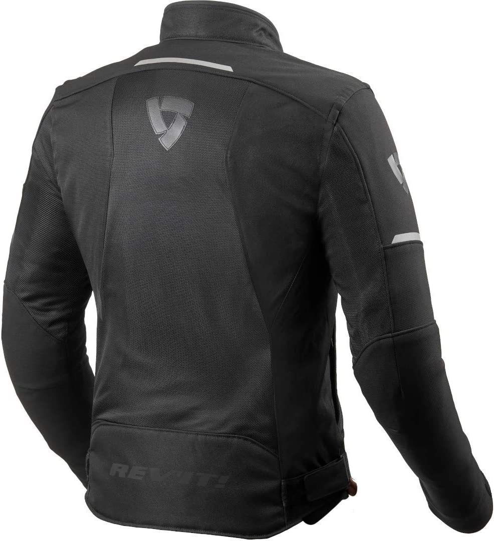 Revit Airwave 3 Motorrad Textiljacke Grau//Rot 3XL