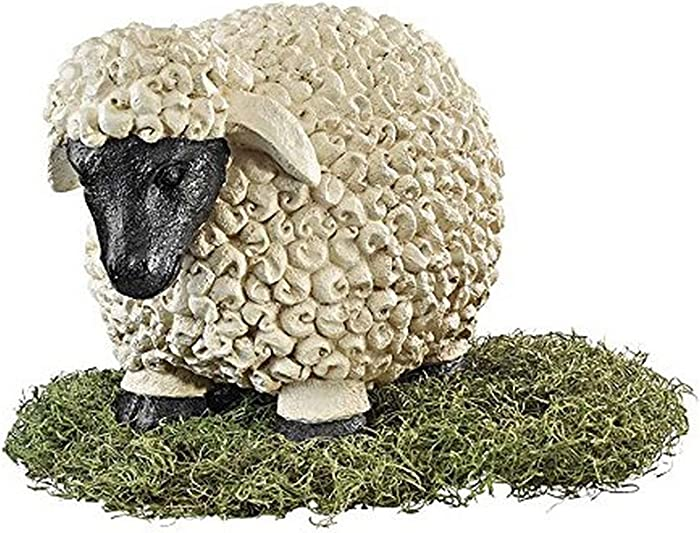 Design Toscano CS57810 Counting Sheep Garden Statue Size: Large,Antique Stone