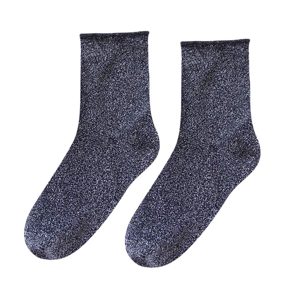 Fainosmny Women Socks Girls Warm Socks Christmas Sock Soft Elastic Socks Cotton Fashion Sock Winter Retro Style Socks
