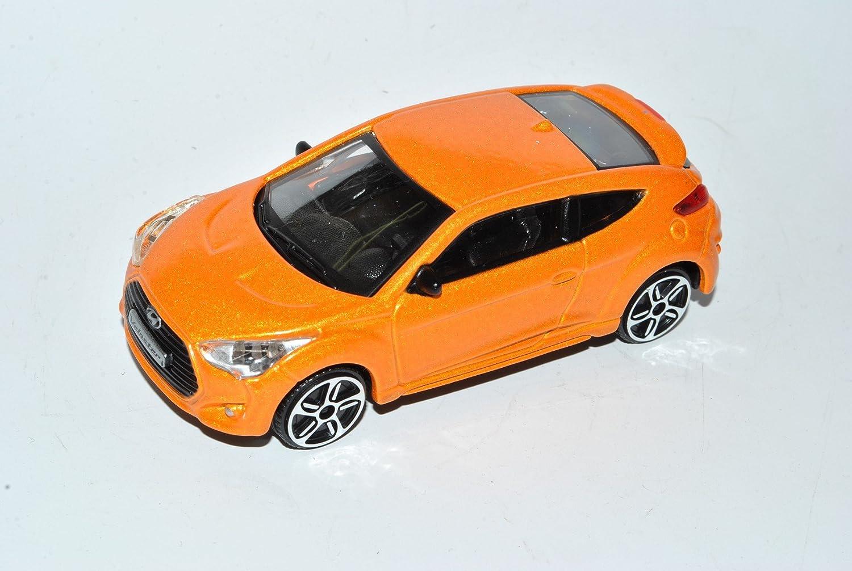 Hyundai Veloster Turbo Coupe Orange Ab 2011 1//43 Bburago Modell Auto mit oder ..