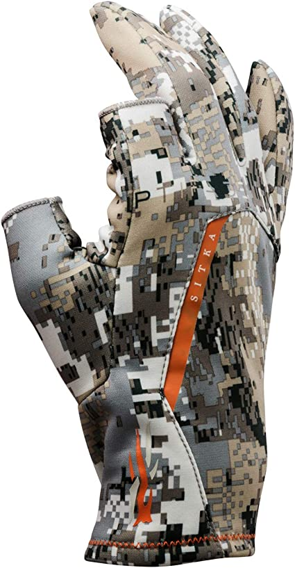 Sitka Men's Fanatic Whitetail Optifade Elevated II Camo Hunting Gloves: Clothing - Amazon.com