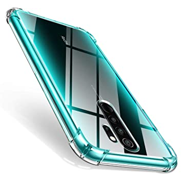 AROYI Xiaomi Redmi Note 8 Pro Funda, Ultra Fina Silicona TransparenteTPU Carcasa Protector Airbag Anti-Choque Anti-arañazos Case Cover para Xiaomi ...