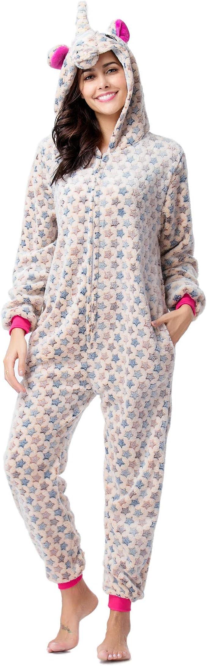 Onesie Pijamas, Monos de Dibujos Animados para Adultos ...