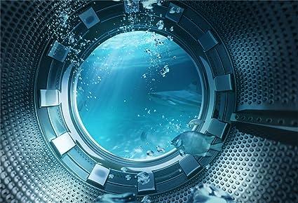 Aliyz 12x10 pies Fondo de Pescado bajo el Agua Vista submarina del ...