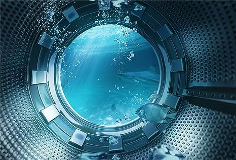 Aliyz Fondo de Pescado subacuático de 10x8 pies Vista submarina ...