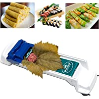 Dolmer Roller Machine, PeSandy Sushi Roller Vegetable Meat Rolling Tool for Beginners and Children Stuffed Grape…