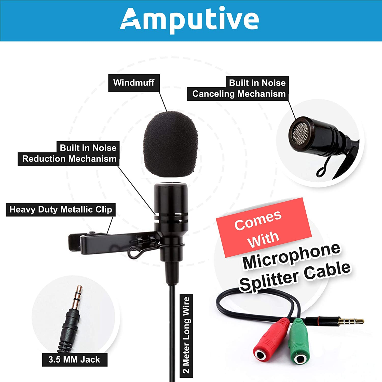 Techlicious 3 5mm Clip Microphone