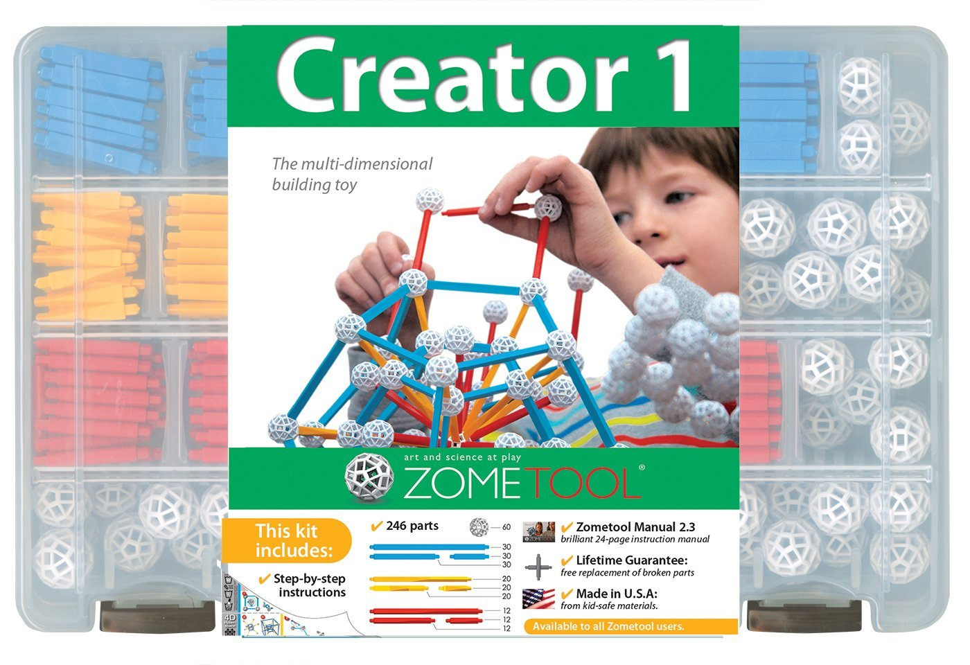 Zometool Creator 1 Construction Kit