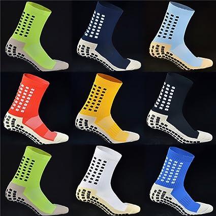 1466402b5 KEEMEN Non Slipping Soccer Socks Anti-Slip Football Socks Sport Socks  Adults Green