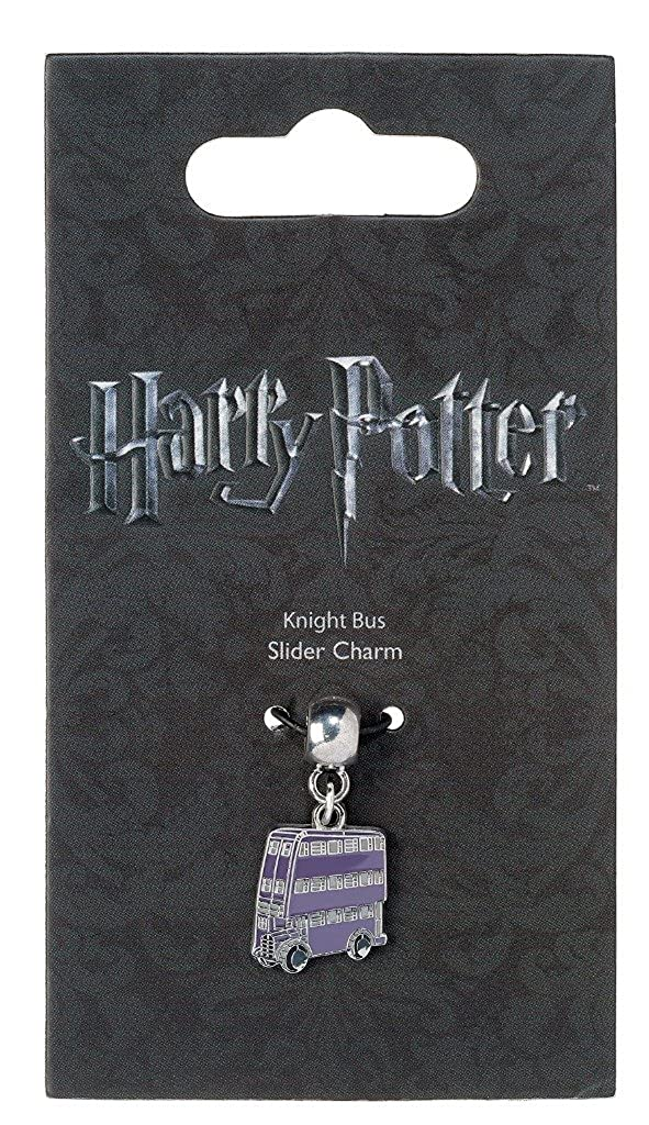 HARRY POTTER Knight Bus Slider Charm Charms Lilac