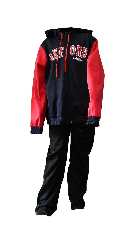 Softee - Chandal Oxford Uni Color Negro/Royal Talla 12 Años ...