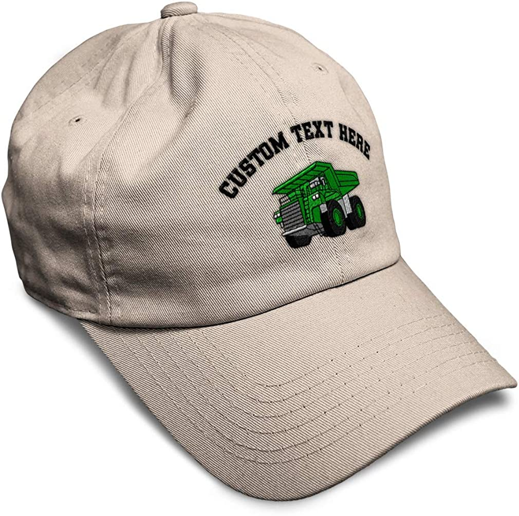 Custom Soft Baseball Cap Rigid Hauler Embroidery Dad Hats for Men /& Women